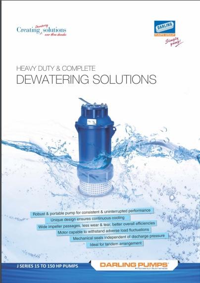 J Series dewatering solutions
