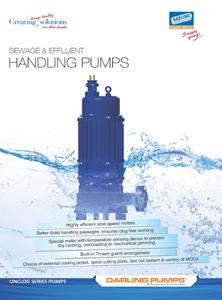 Sewage Handling Pumps